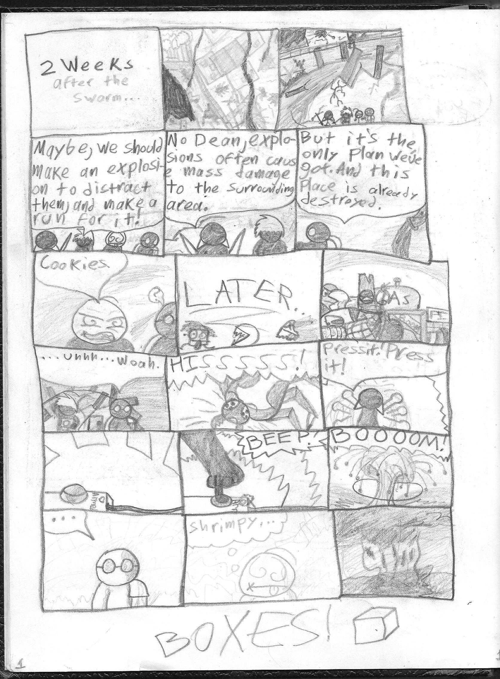 The Stupid Peole! #20 Page 1