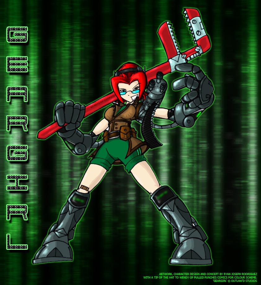 Here's Geargirl!