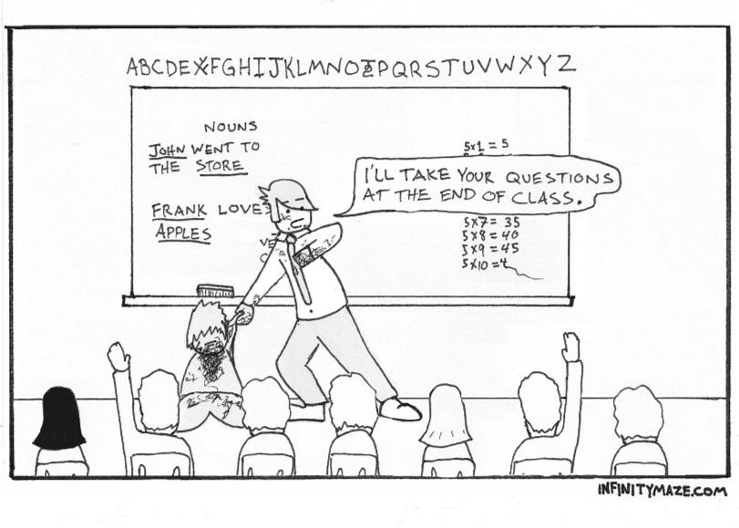 classroom antics