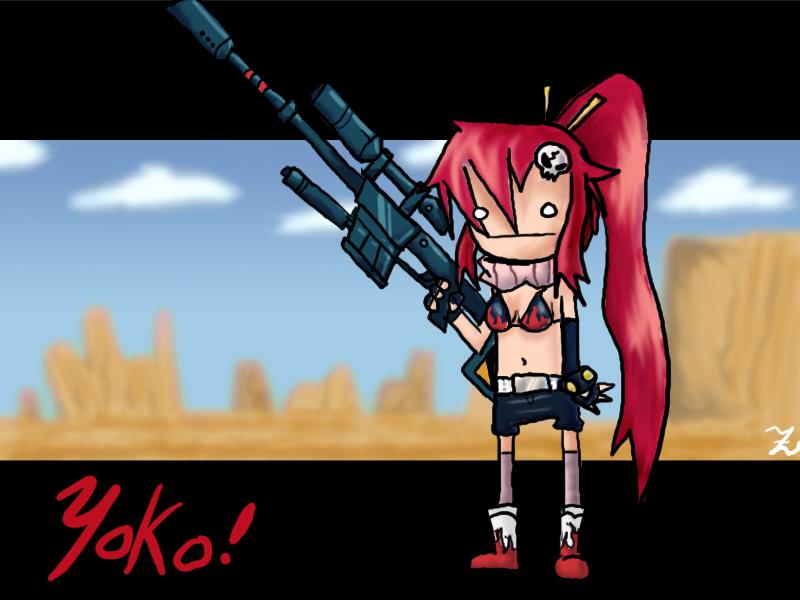Yoko is sexy