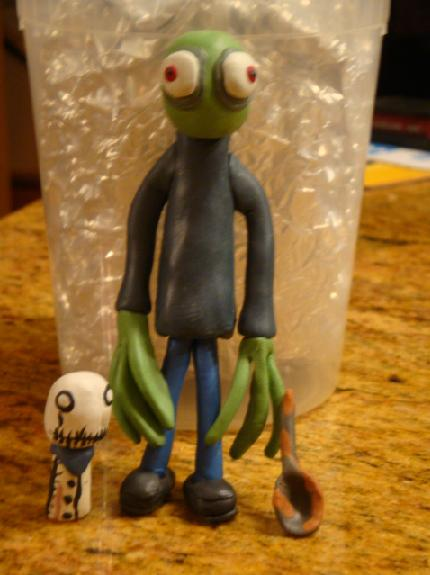 Clay Salad Fingers