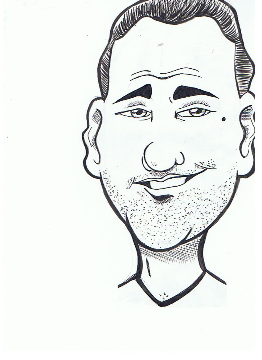 Smirk Caricature