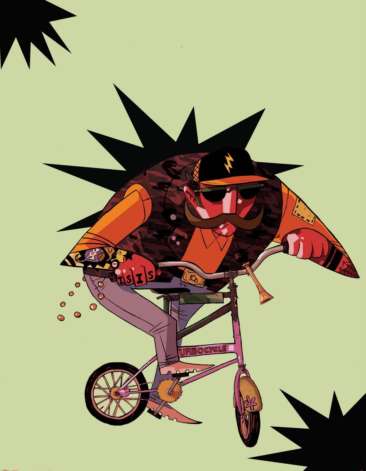 double itty-bitty bike
