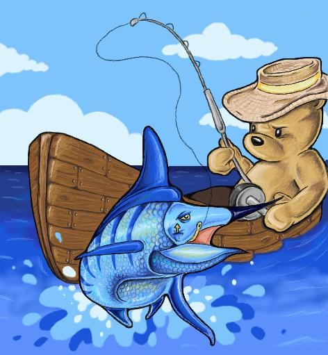 Teddy Fishing
