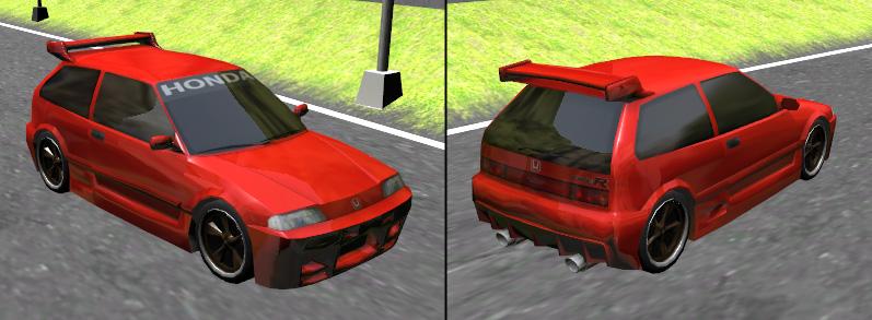 Old Honda civic [in-game]