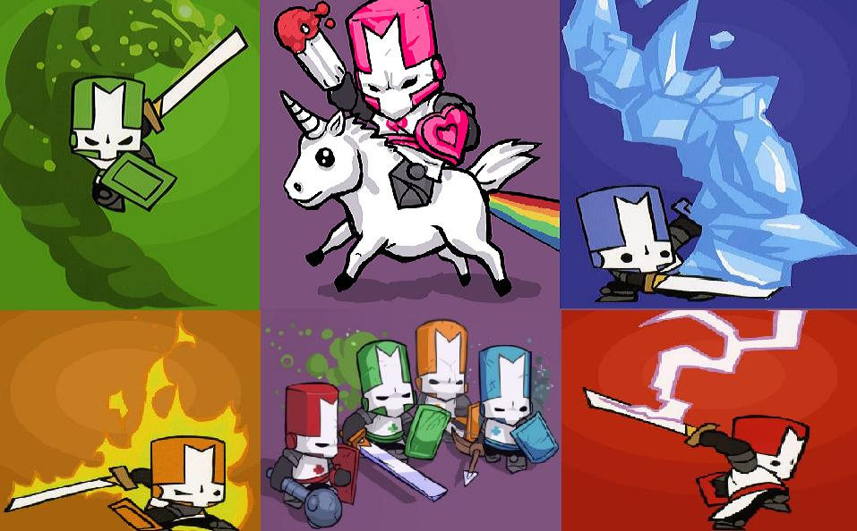 the castle crashers