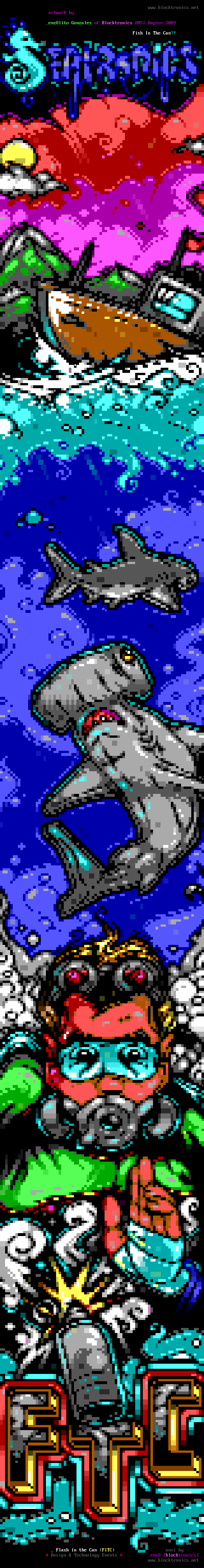Flash in The Can ansi
