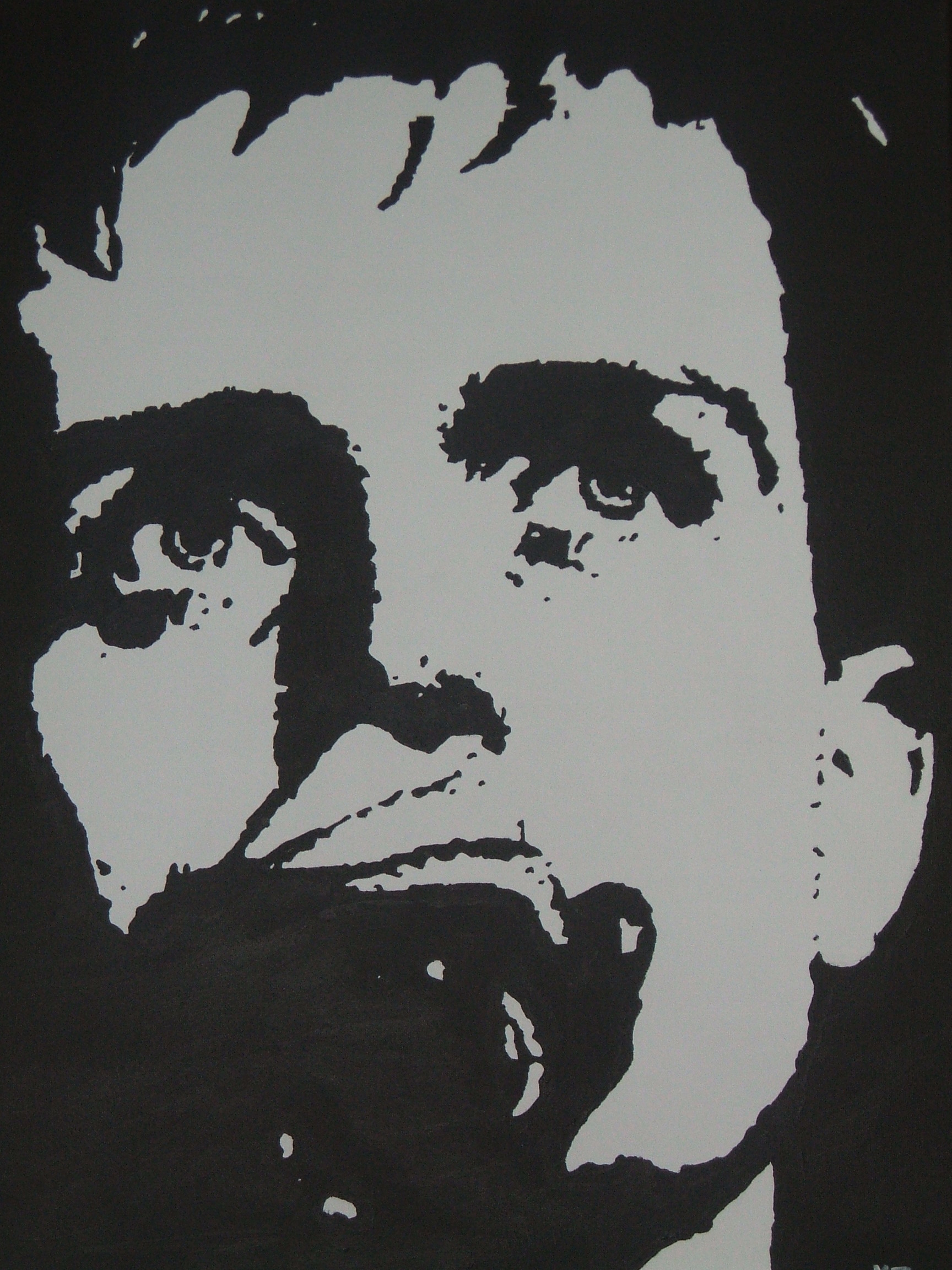 Ian Curtis (JD) Painting