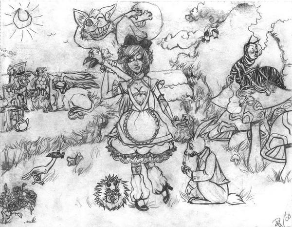 Pencil Wonderland