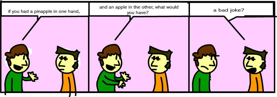 The Pinapple and the Apple