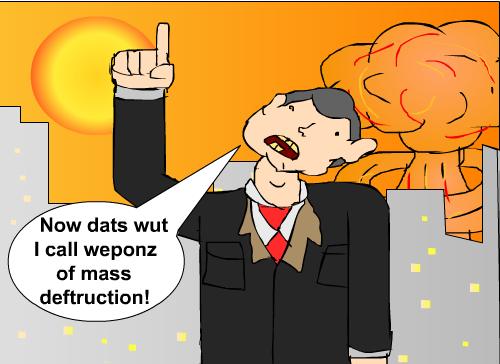 Weponz Of Mass Deftruction!