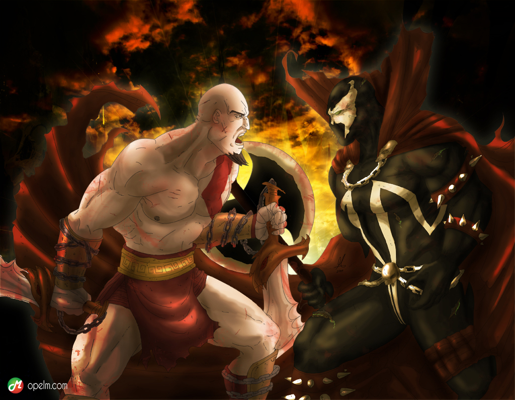 Kratos vs Spawn