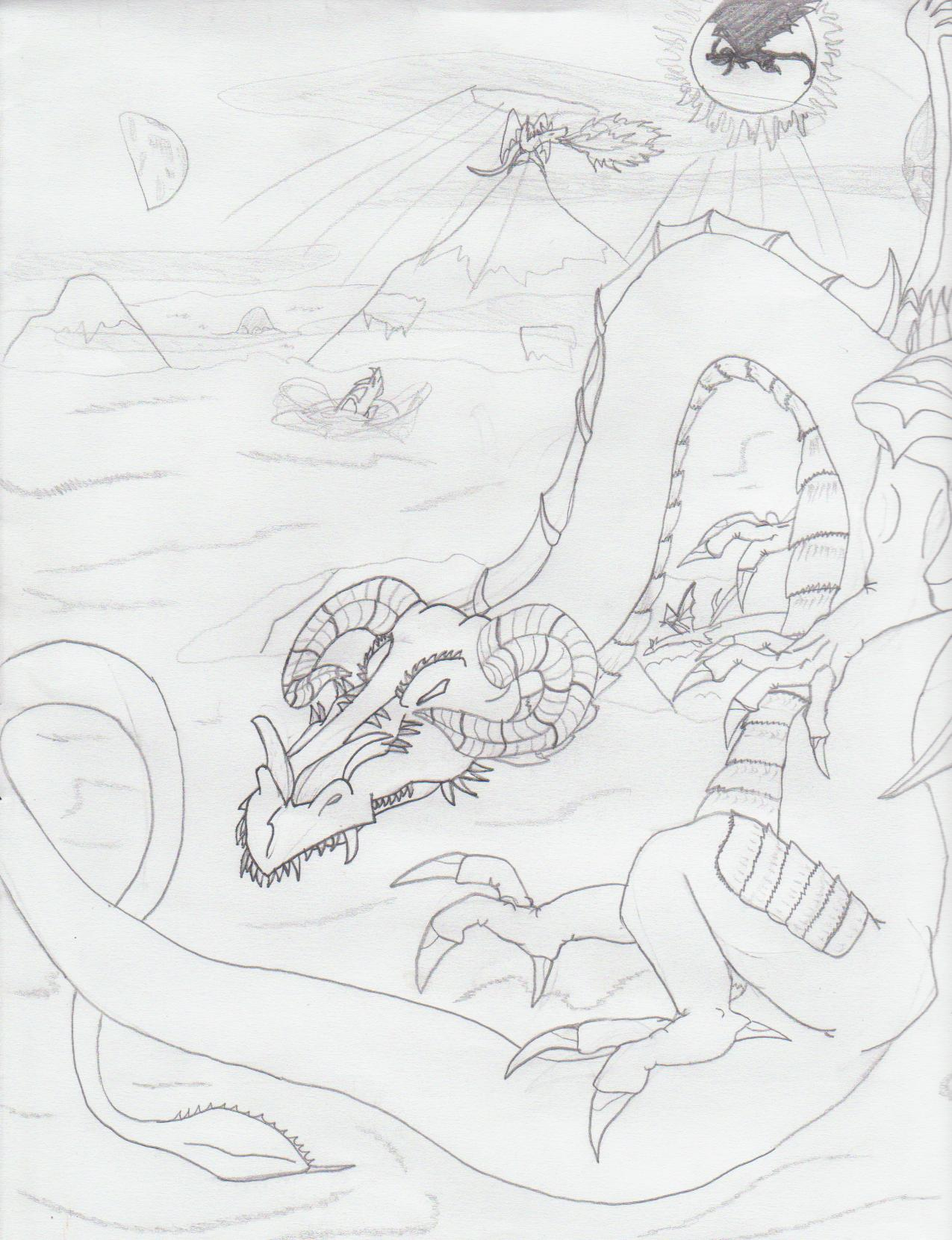 Dragonz everywhere!