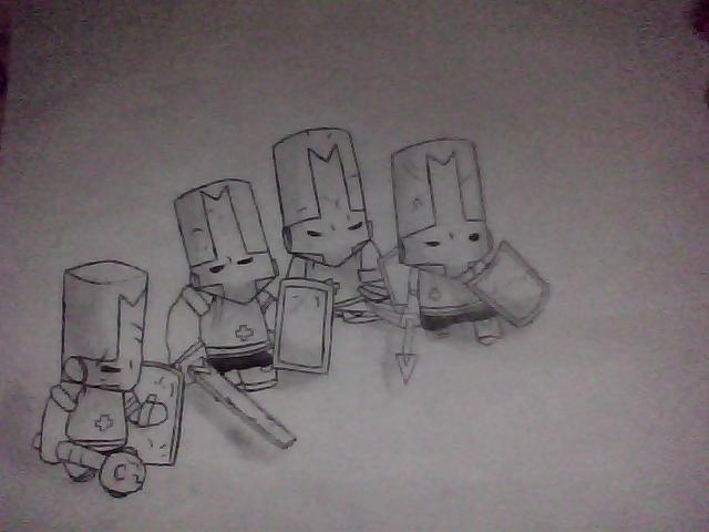 Castle Crashers Sketch