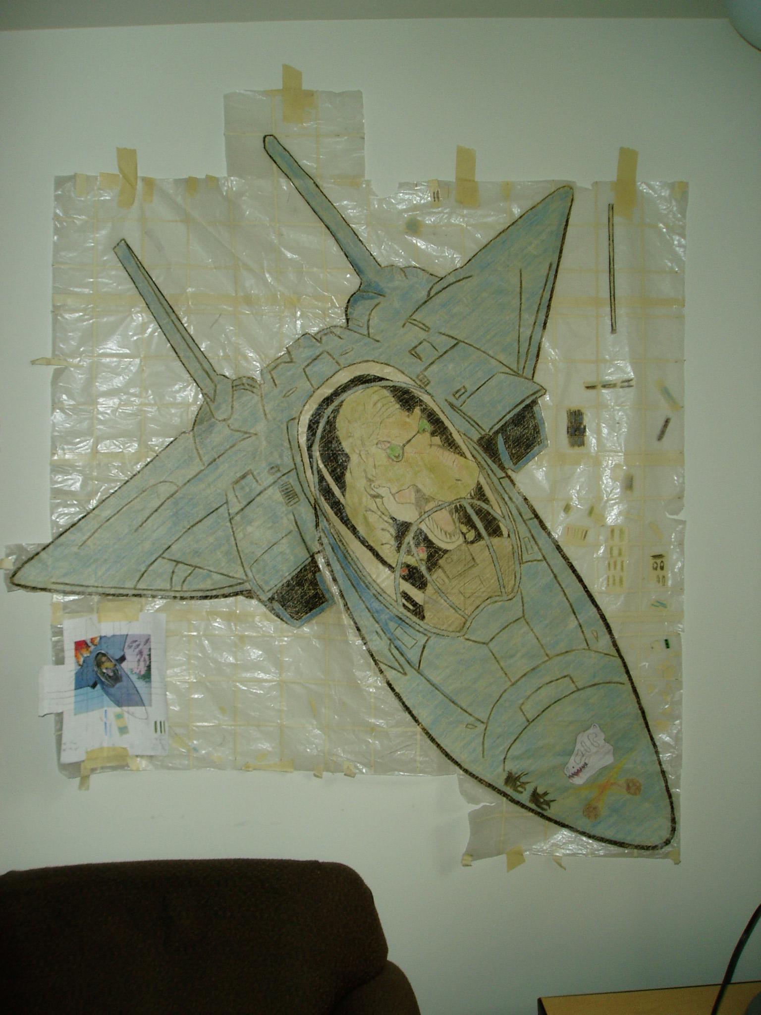 T-Rex in F-14