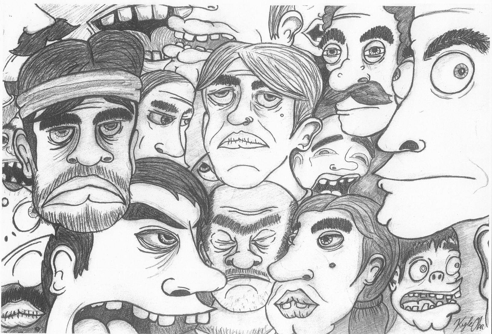 Faces of Those I Don't Like