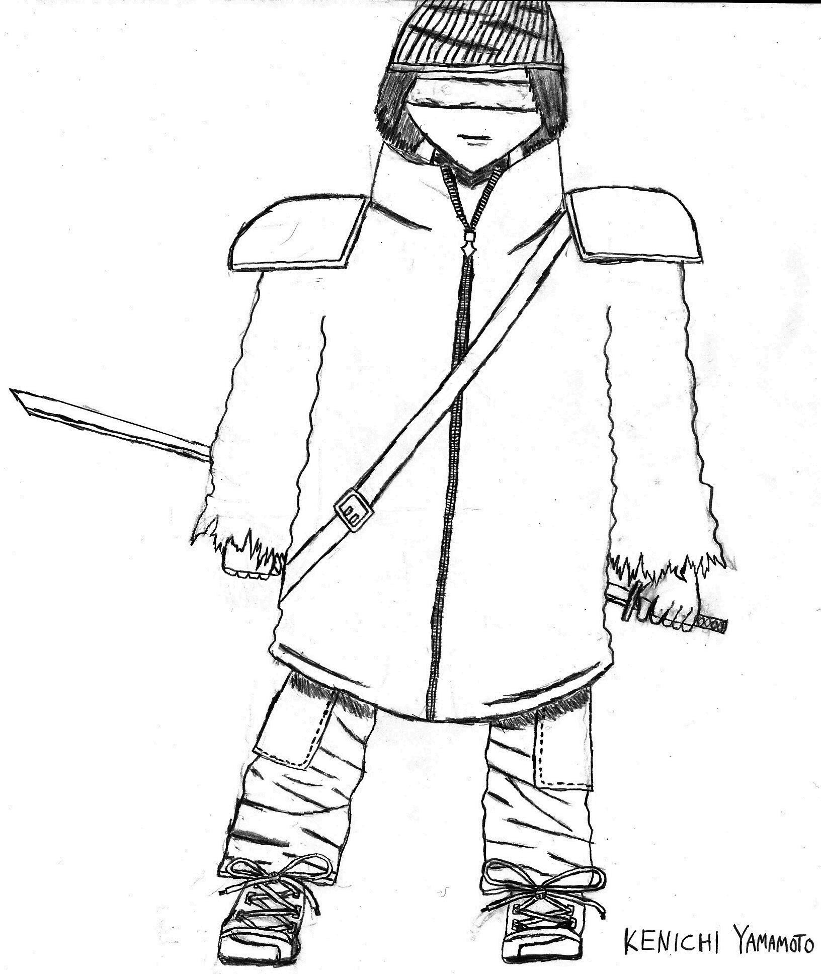 OC Sketch: Shikyo