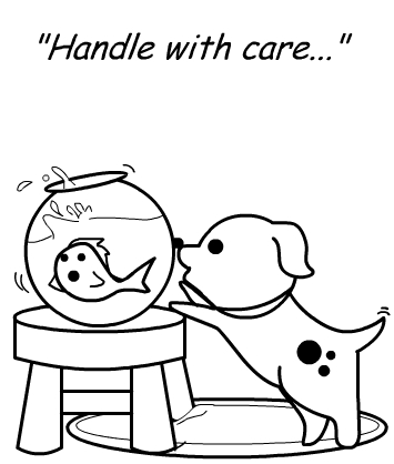 Handle with care...