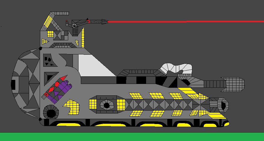 Modified storm trooper tank