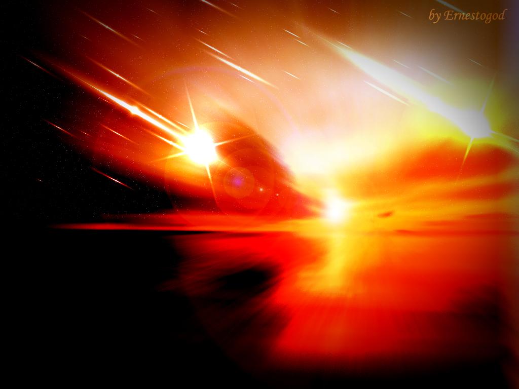 Stars Fall at the Dawn