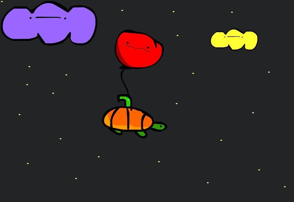 The Lone Balloon