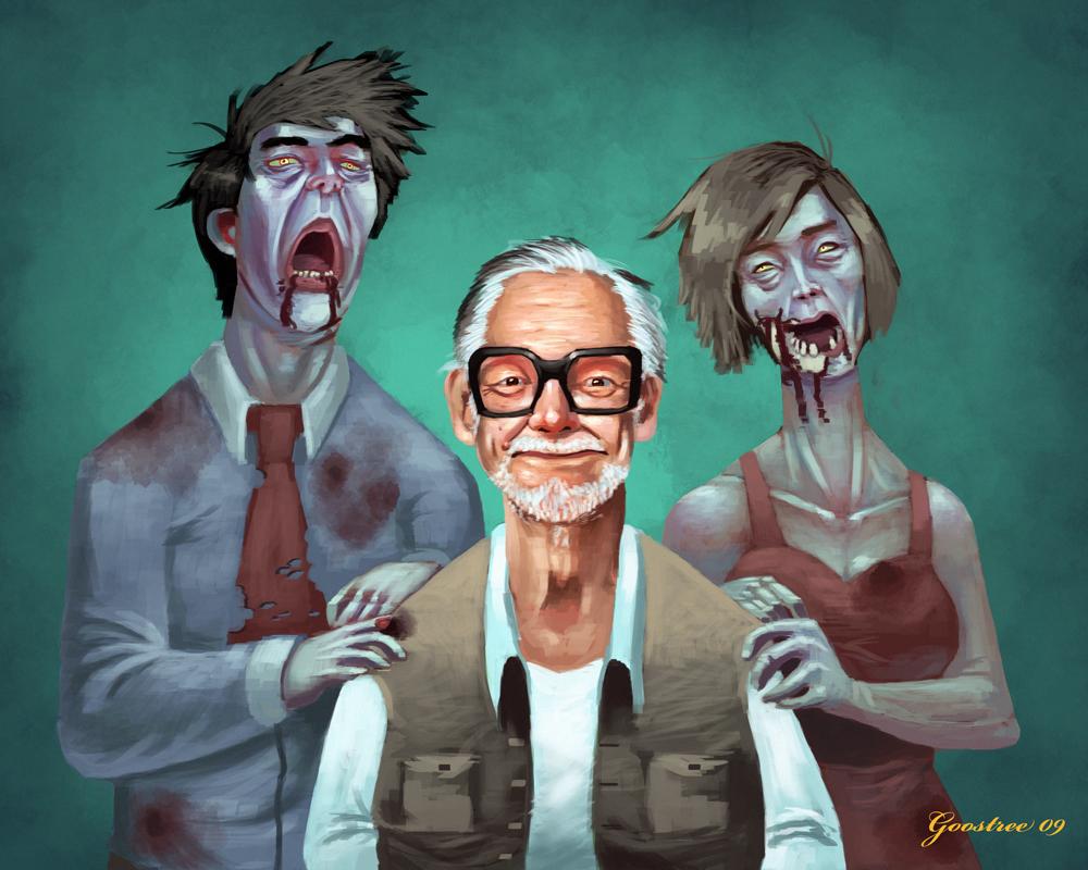 George Romero Portrait