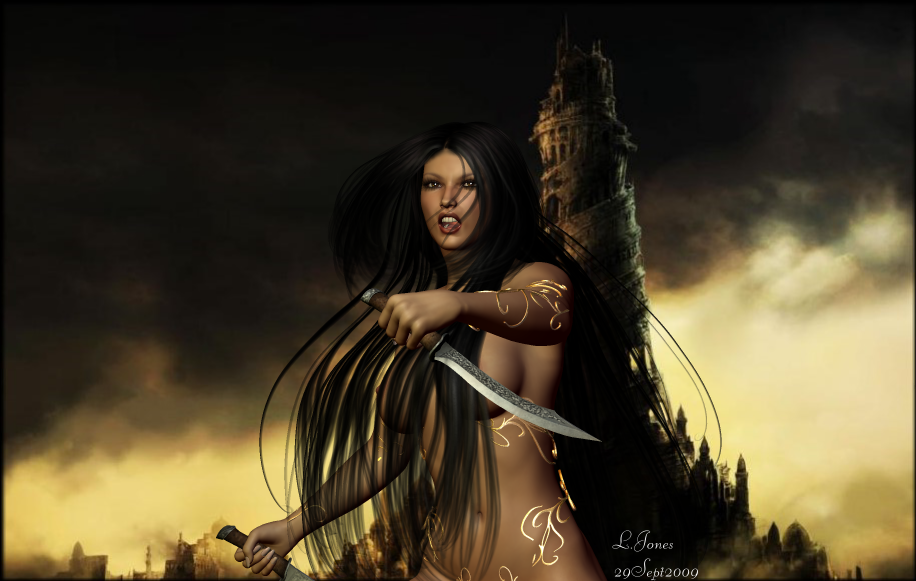 Lady of the Blades