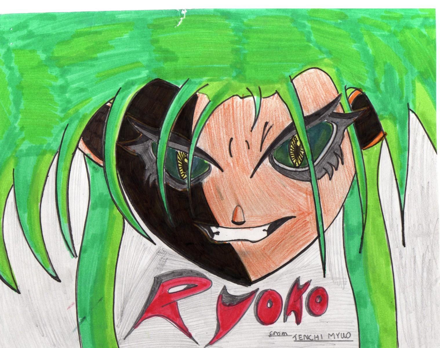 Angry Ryoko