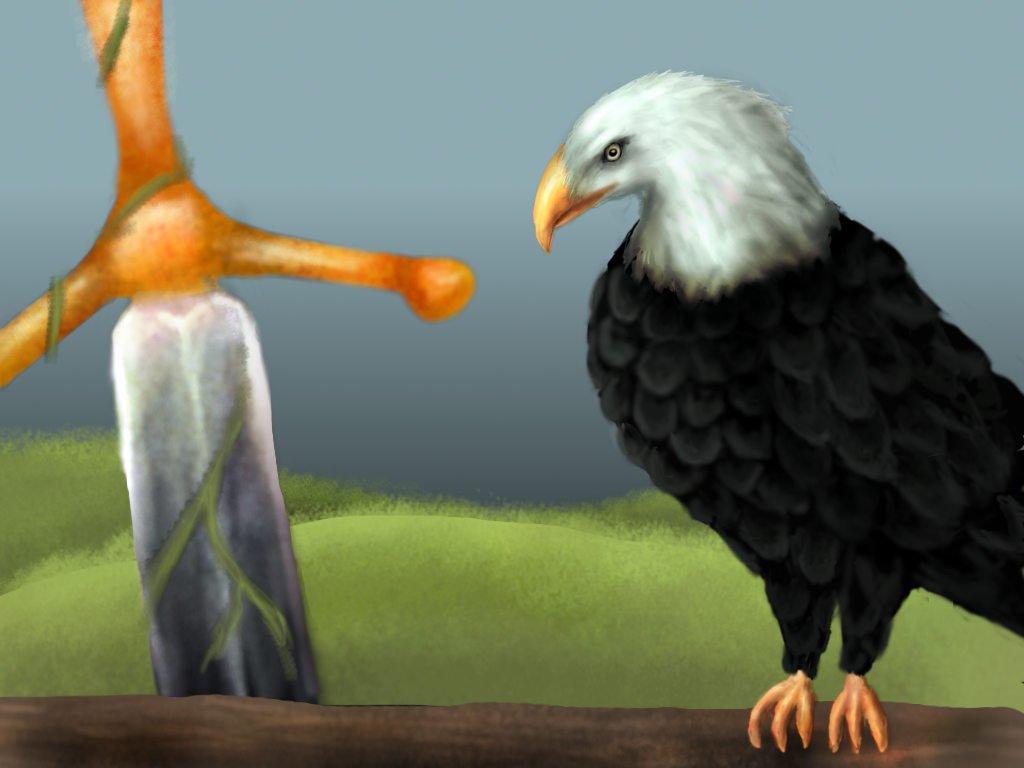 Bold Eagle and The Sword