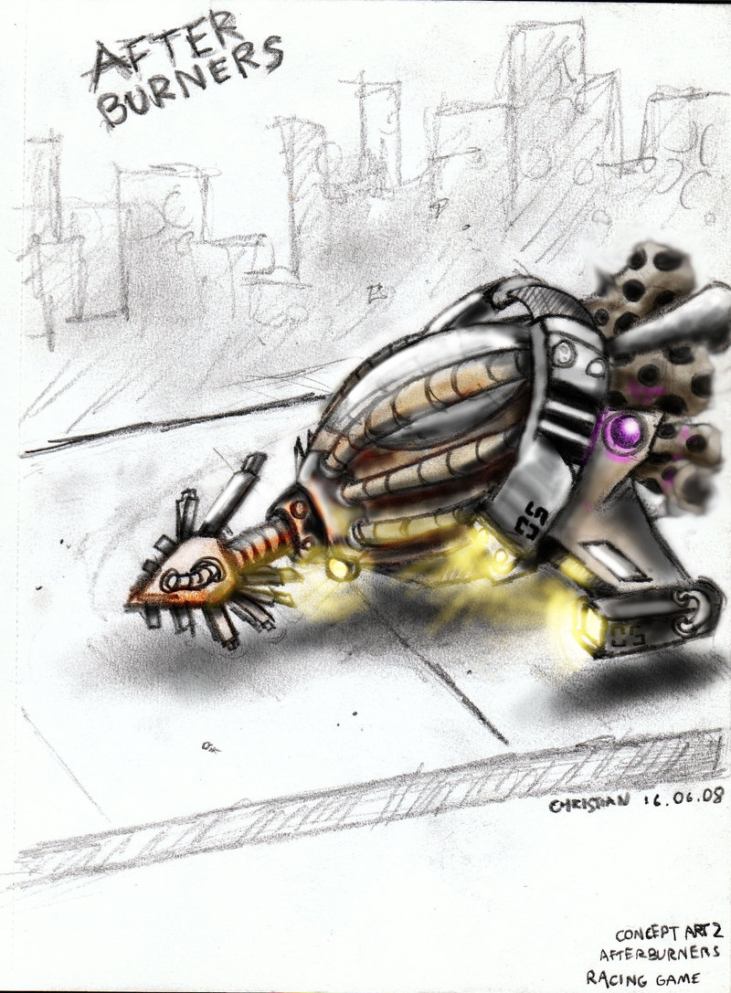 -Afterburners concept art-