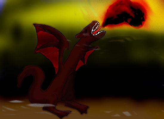 another bleedin dragon