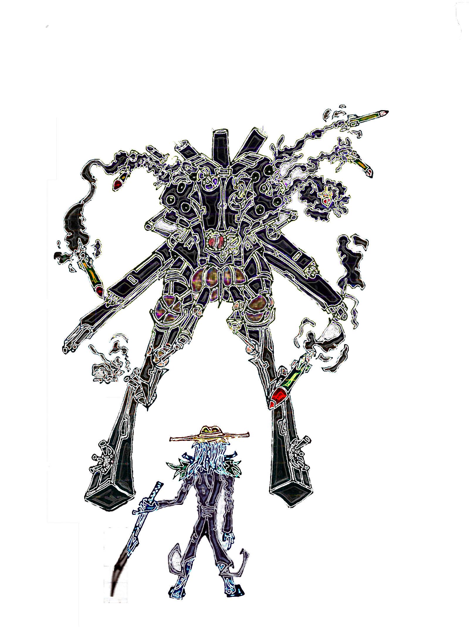 Robot Vs. Nine
