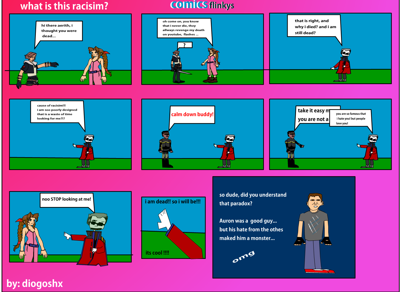 flinkys comic
