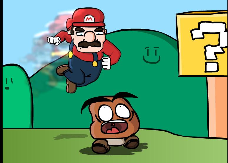 Mario vs Goomba
