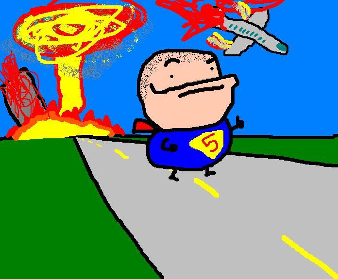 Retarded Superman