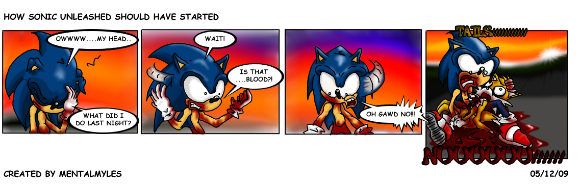 Comic 02: How Sonic Unleashed