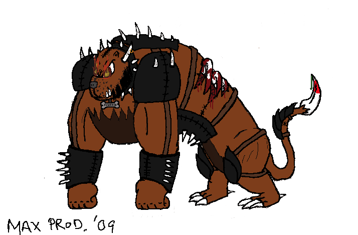 Armored Abomination Dog