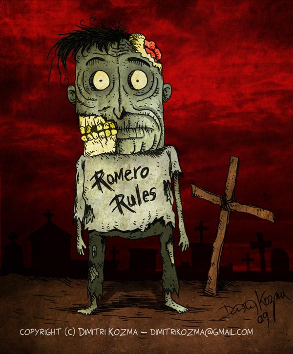 George A. Romero's Fan Zombie