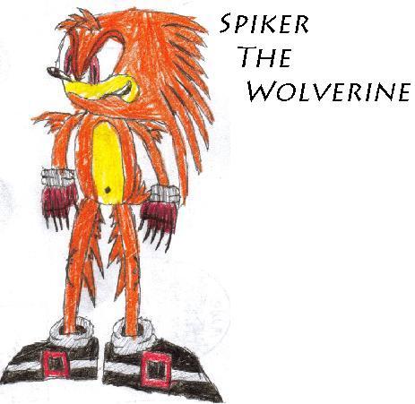 My Sonic Fan Character-Spiker