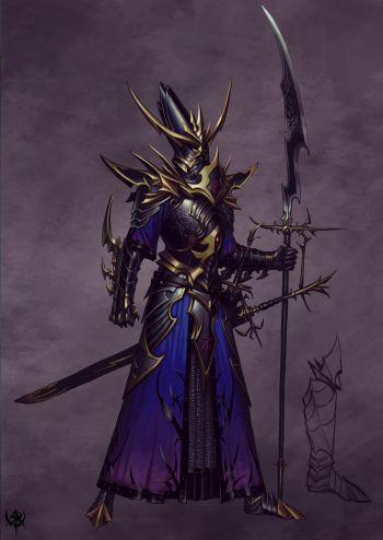 Dark warior