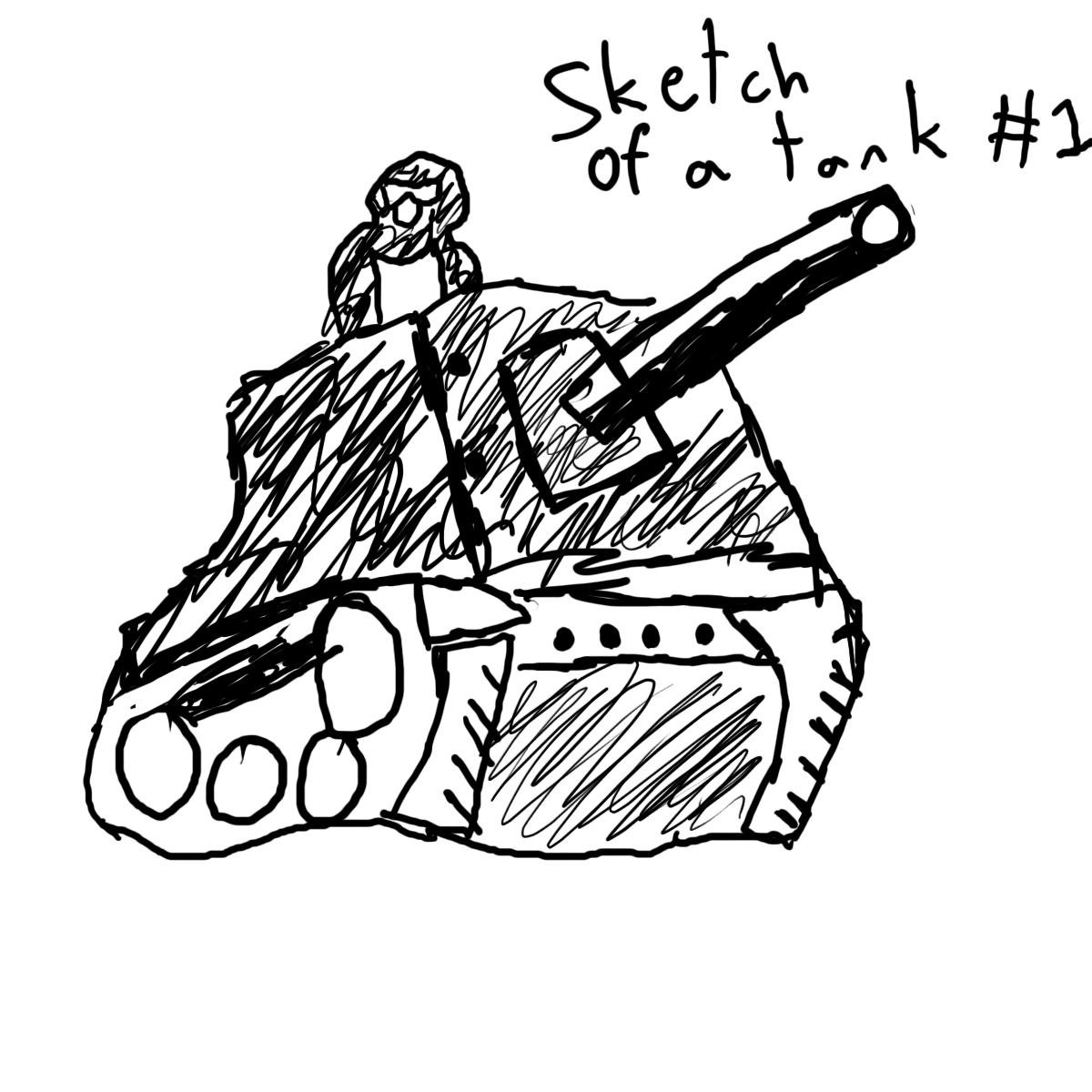 Tank Sketch #1