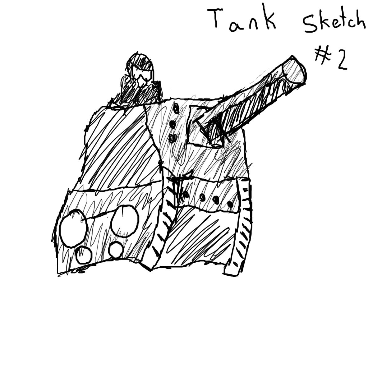 Tank Sketch #2