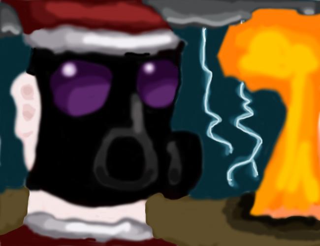 Christmas 2209 Art collab piec