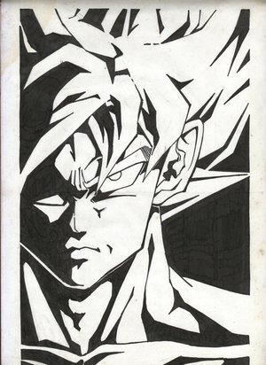 Goku SSJ (Shaded)