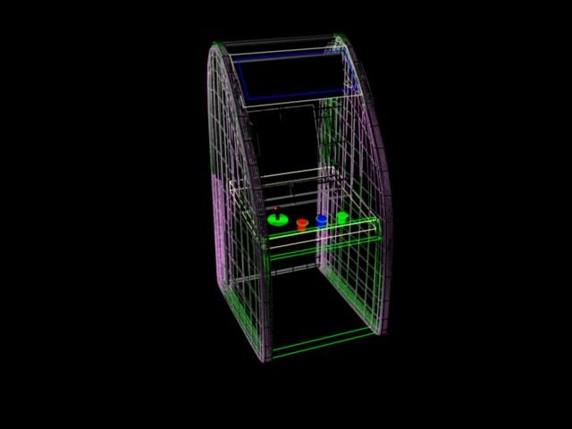 Doom 4: Wire frame