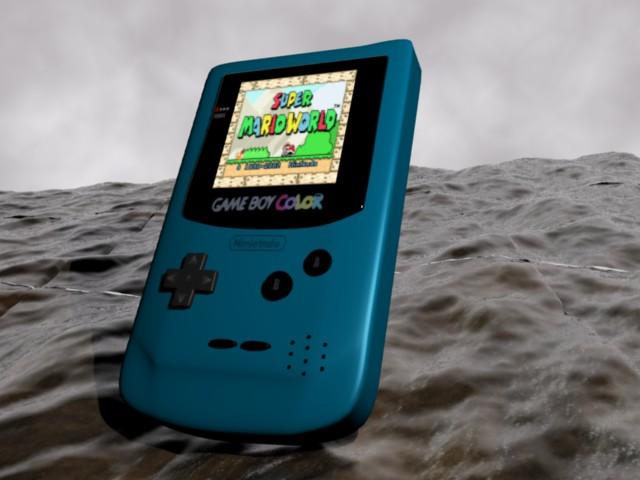 Game Boy Color:Blue