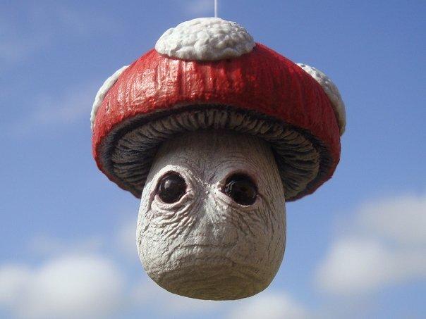 Realistic Mario Mushroom