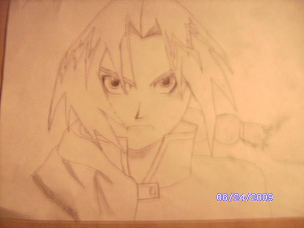 Edd Elric from full metal