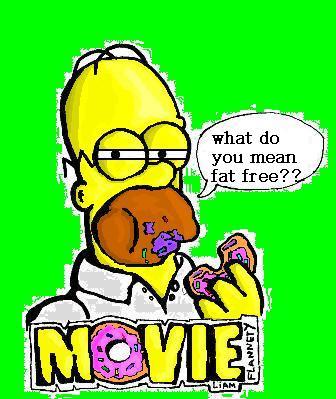 the simpsons movie fan art