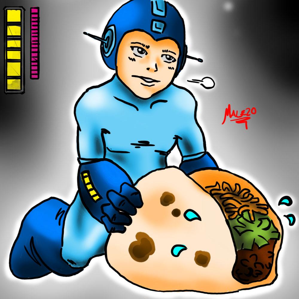 Megaman x Taco